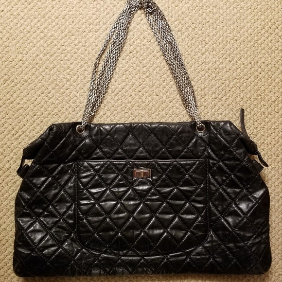20d970682fe79 CHANEL Handbags - Chanel 2.55 Reissue Overnight Quilted Lambskin XXl